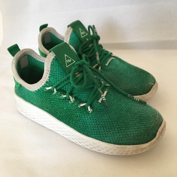 sale retailer 3cbb4 8eed9 adidas Pharrell Williams  green size 9.5K